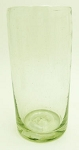 Water Glass, 14 oz. Clear Glass<br>Hand blown glass from Mexico